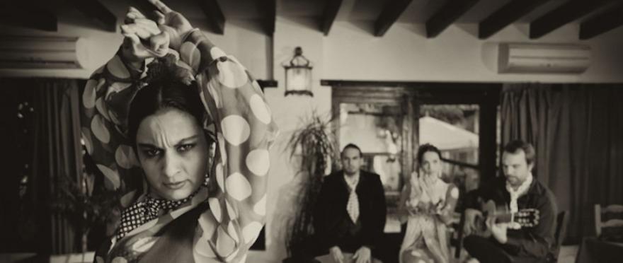 Flamenco en vivo y cena en Jardines de Zoraya