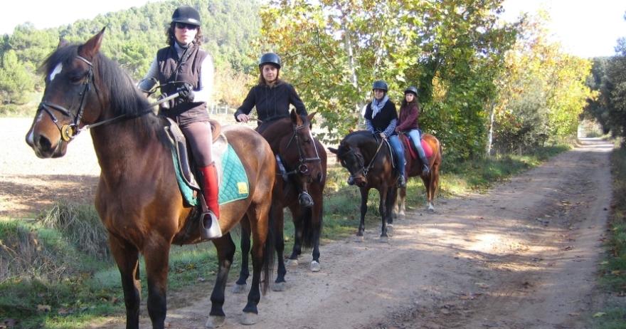 Excursi�n a caballo