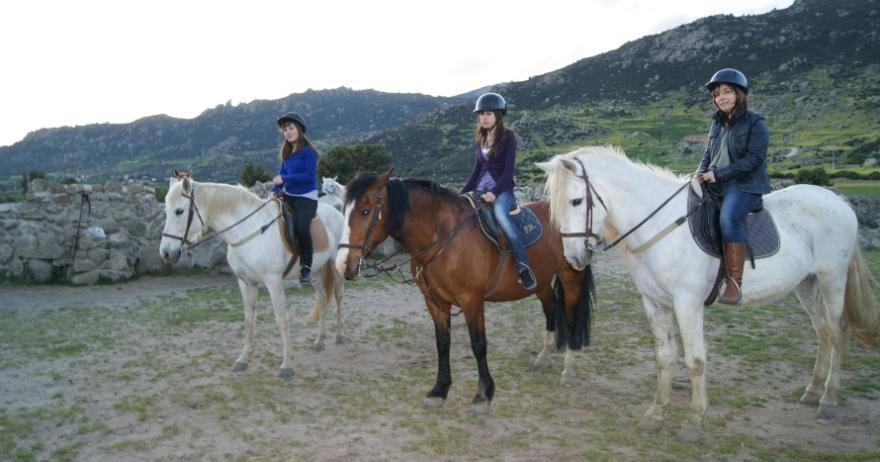 Paseos a caballo para los más pequeños