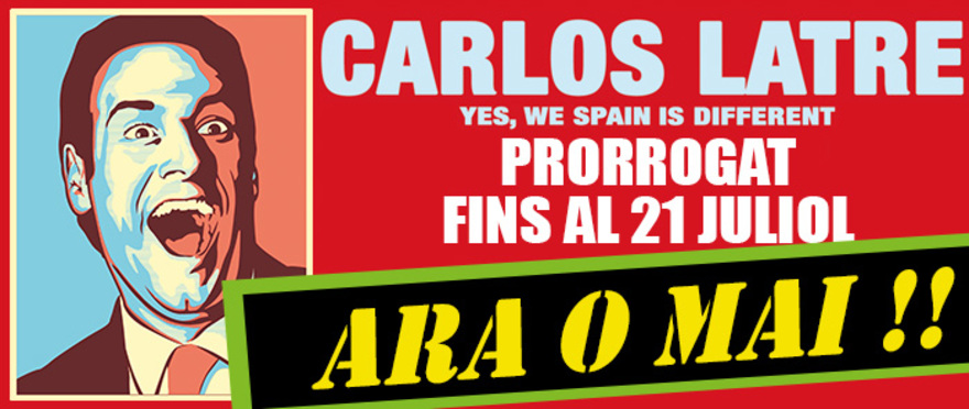 Yes, We Spain is Different - Carlos Latre