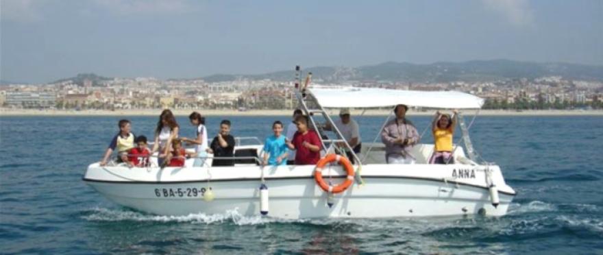 Alquiler de barco Anna con patr�n en Matar�
