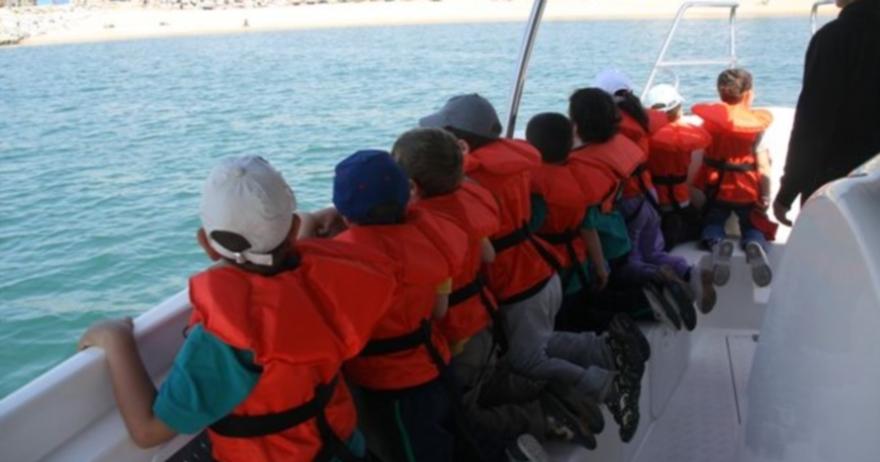 Excursi�n en golondrina y ba�o en el mar opcional