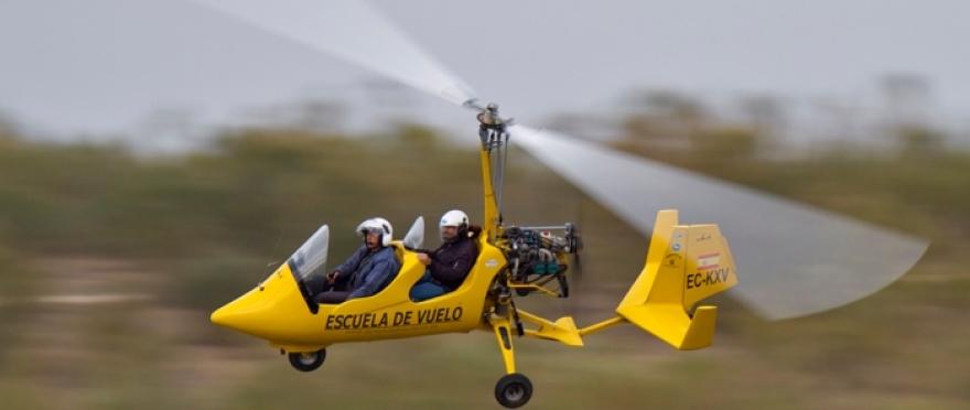 Descubre el vuelo en Autogiro