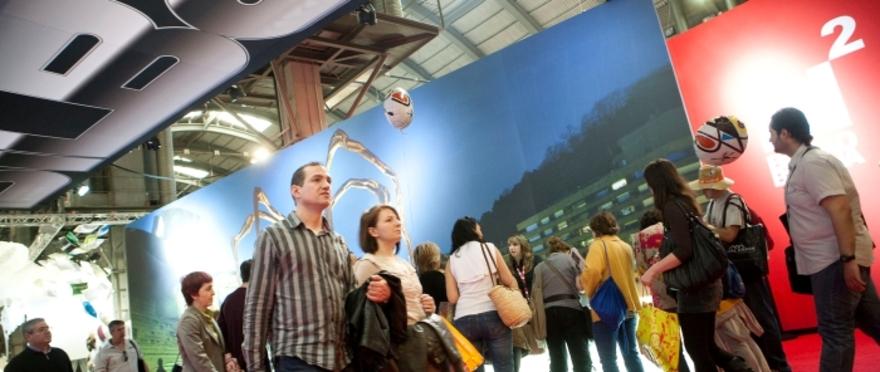 Entrada a la Feria de Turismo de Barcelona 2012