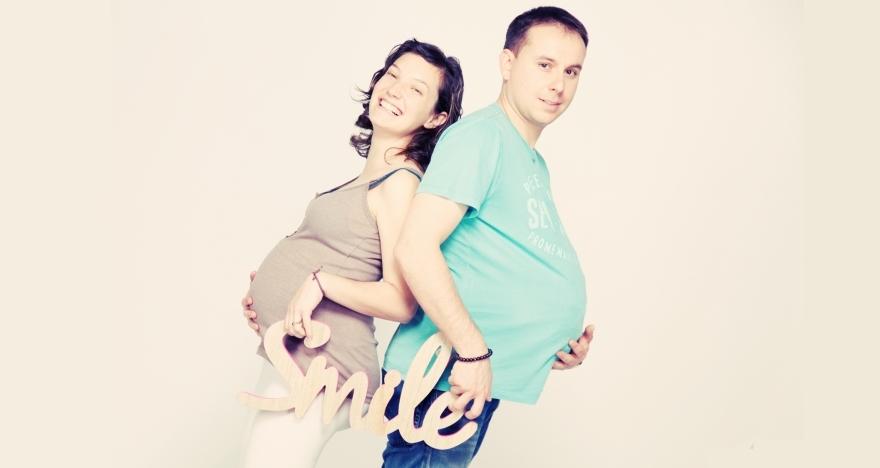 Sesi�n fotogr�fica de embarazo