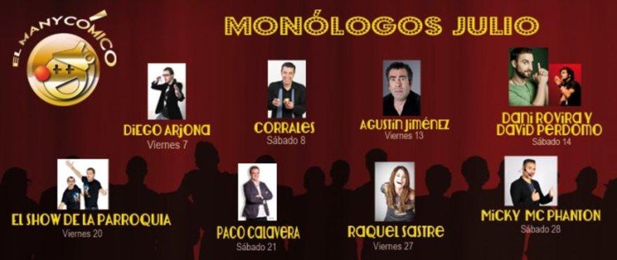 Mon�logos en el Manyc�mico