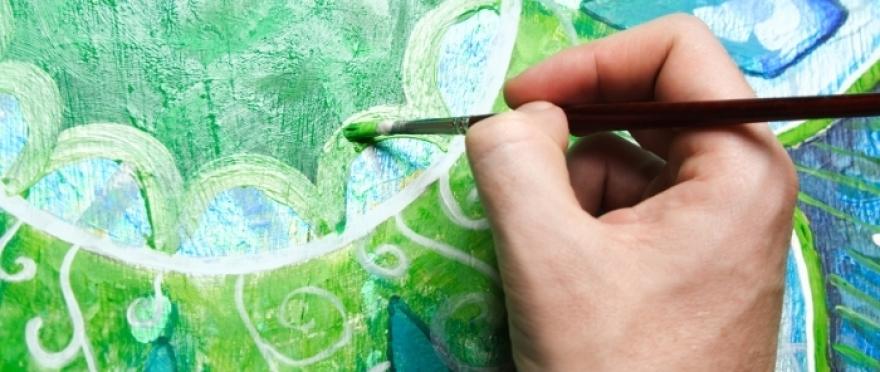 Pintura y relajaci�n con Mandalas