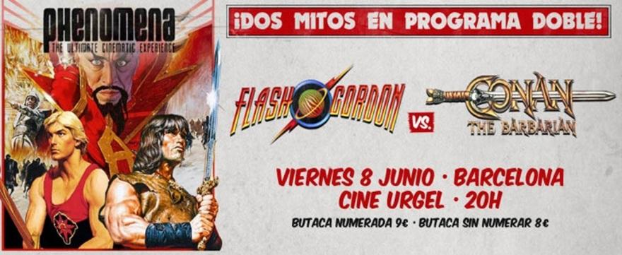 Phenomena: Flash Gordon & Conan