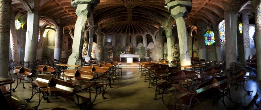 Visita la Colonia G�ell - Cripta Gaud�