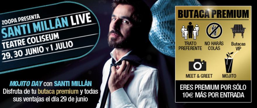 Santi Mill�n Live!