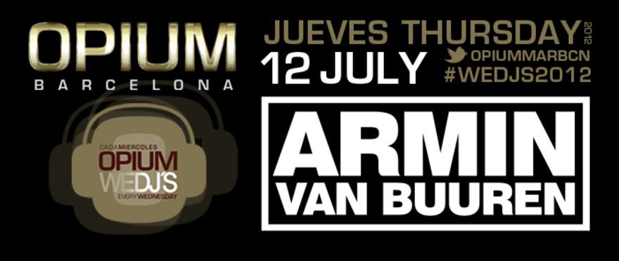 Armin Van Buuren, en WEDJ'S Opium Barcelona