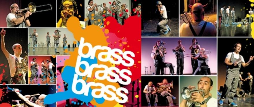 Brass, brass, brass espectáculo con instrumentos de metal Spanish Brass Luur Metalls