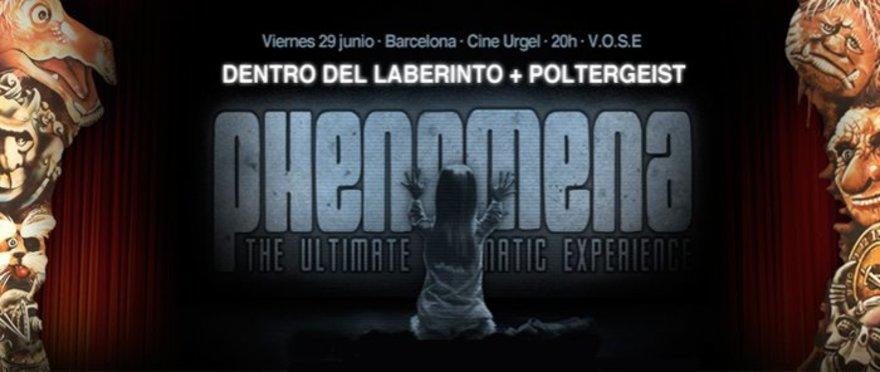 Phenomena: Dentro del laberinto + Poltergeist
