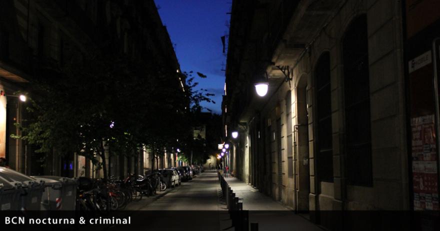 BCN nocturna y criminal