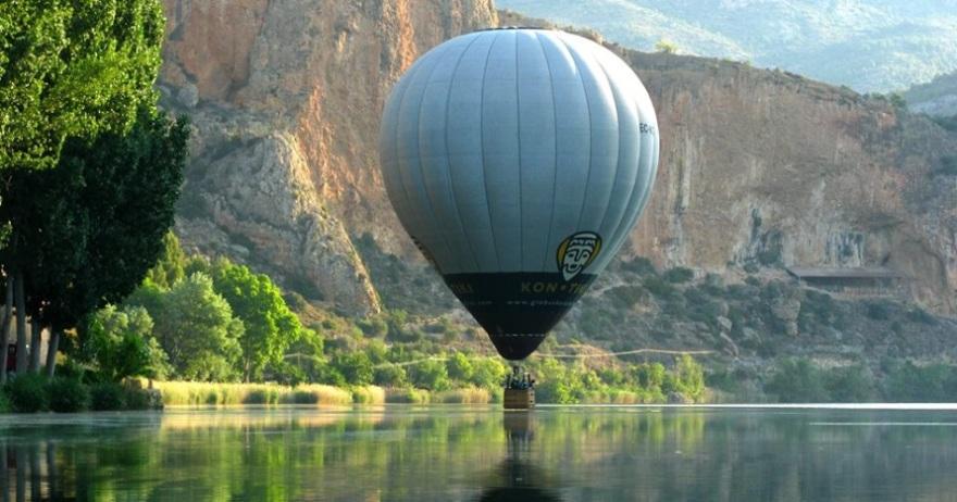 Vuelo en globo por el Montseny