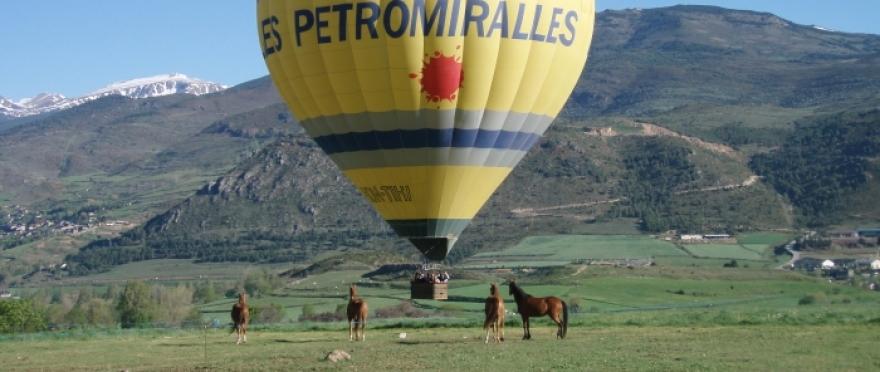 Vuelo en globo en l'Empord� y la Costa Brava