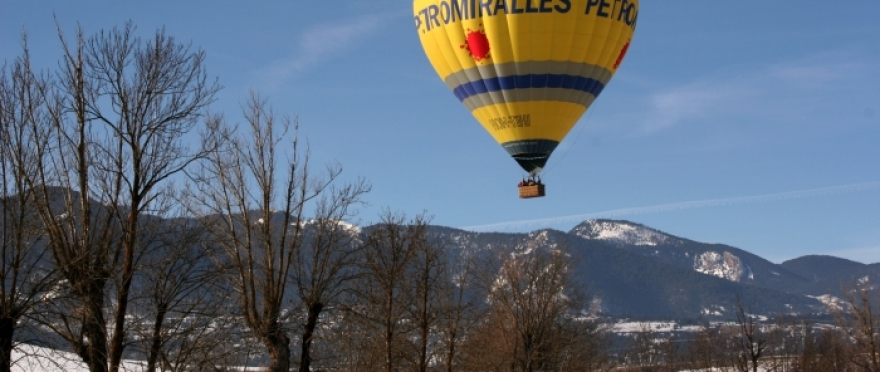 Vuelo en globo por la Segarra y sus castillos