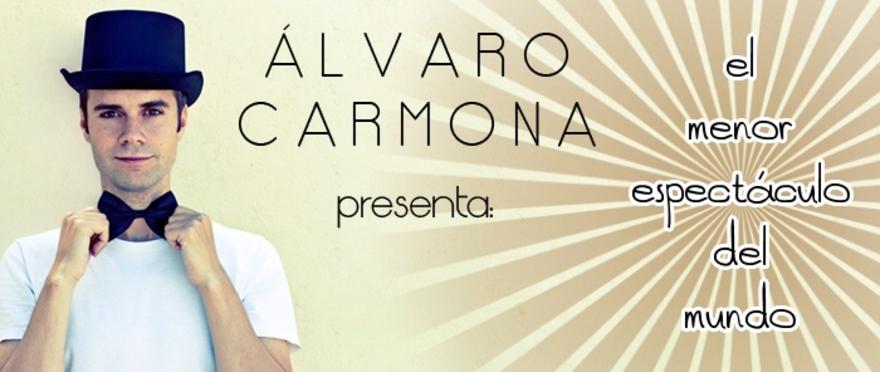 �lvaro Carmona - El menor espect�culo del mundo