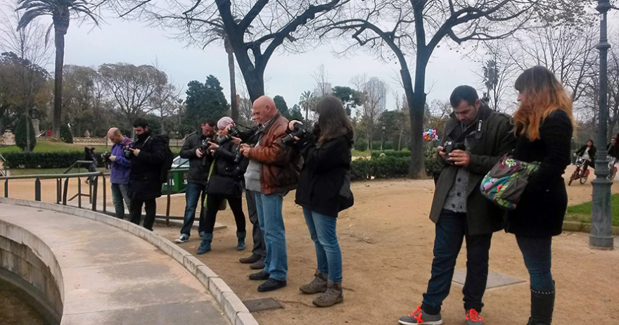 Fotograf�a b�sica con r�flex, presencial y online