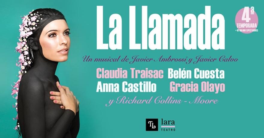 Claudia Traisac protagoniza La llamada en el Teatro Lara