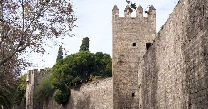 Las murallas de Barcelona