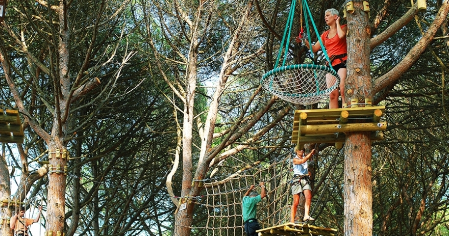 Circuitos de aventura en Costa Brava Parc Aventura