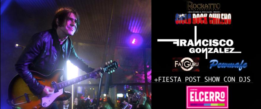 Francisco Gonzalez (Lucybell) + Ciclo de Rock