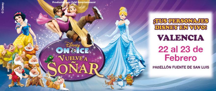 Disney On Ice � Vuelve a So�ar en Valencia