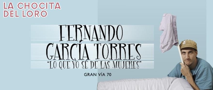 Fernando Garcia - Lo que yo s� de las mujeres