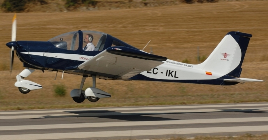 Ultraligero Tecnam P96 + posibilidad de pilotaje