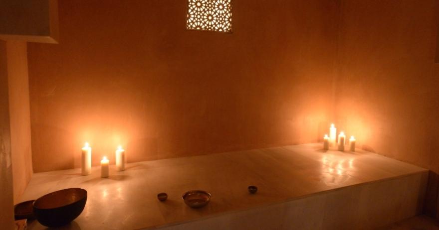 Ba�os �rabes y masaje relajante para dos