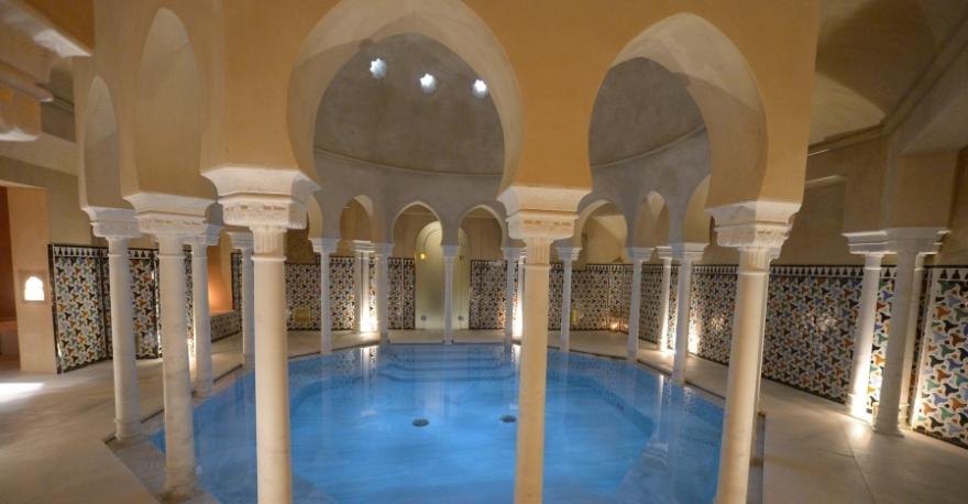 Baños árabes Hammam Al Ándalus Málaga