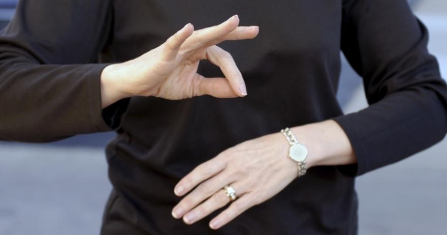 Curso de comunicación en Lengua de Signos española