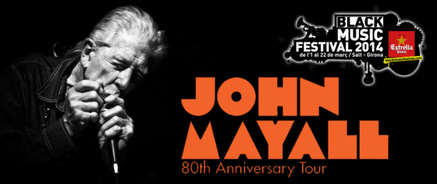 John Mayall: 80th Anniversary Tour