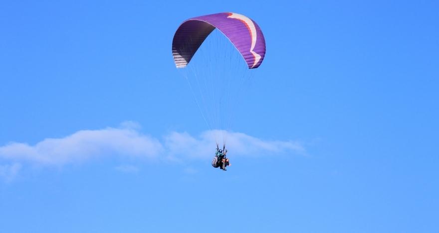 Bautismo de vuelo en parapente