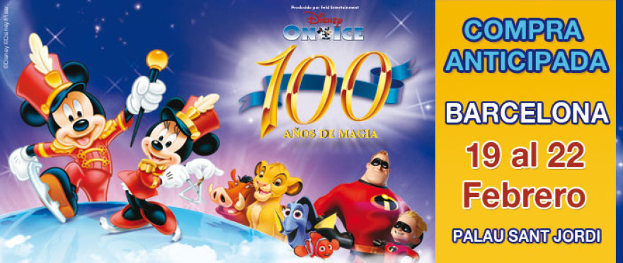 Disney On Ice - 100 a�os, en Barcelona