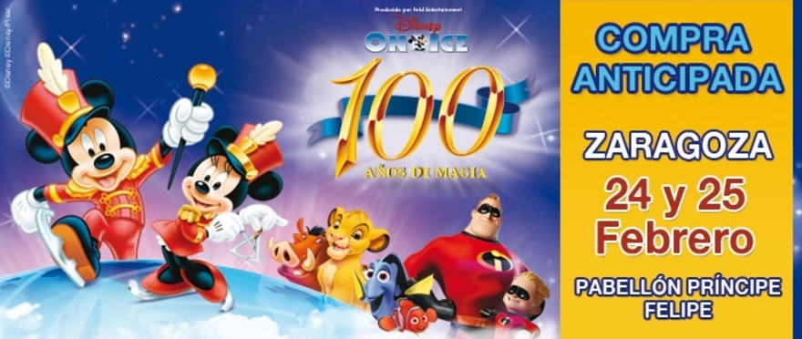Disney On Ice - 100 años, en Zaragoza