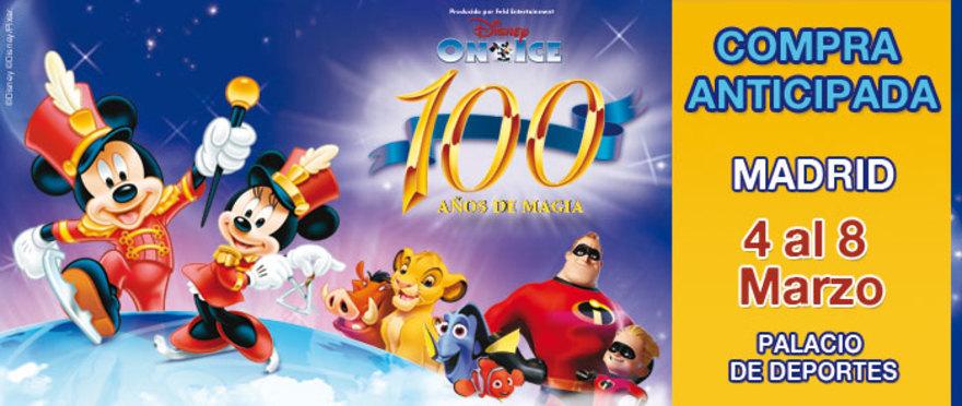 Disney On Ice - 100 años, en Madrid