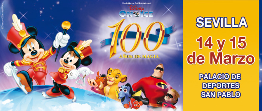 Disney On Ice - 100 años