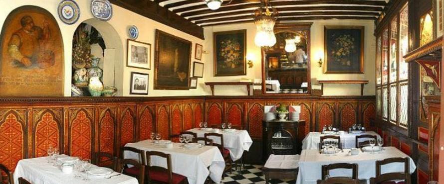 Restaurante bot n madrid for Casa botin madrid