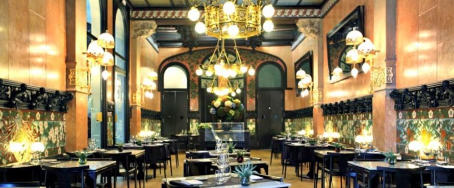 Restaurante fonda espa a by mart n berasategui barcelona for Restaurante la campana barcelona