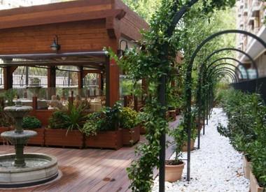 Restaurante graciela madrid for Pizza jardin marcelo spinola