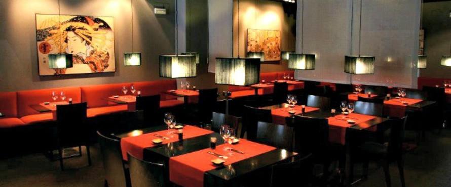 Restaurante inari general pardi as madrid for Hoteles minimalistas en espana