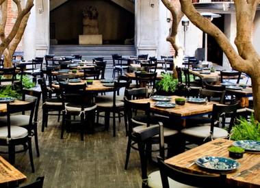 Restaurante fonda argentina isabel la cat lica ciudad de for Cafe el jardin centro historico