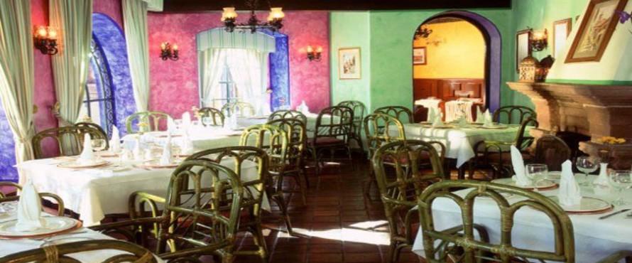 Restaurante jard n del corregidor ciudad de m xico for Restaurante jardin