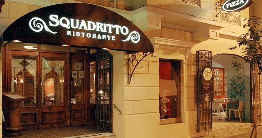 Addio ristorante Squadritto