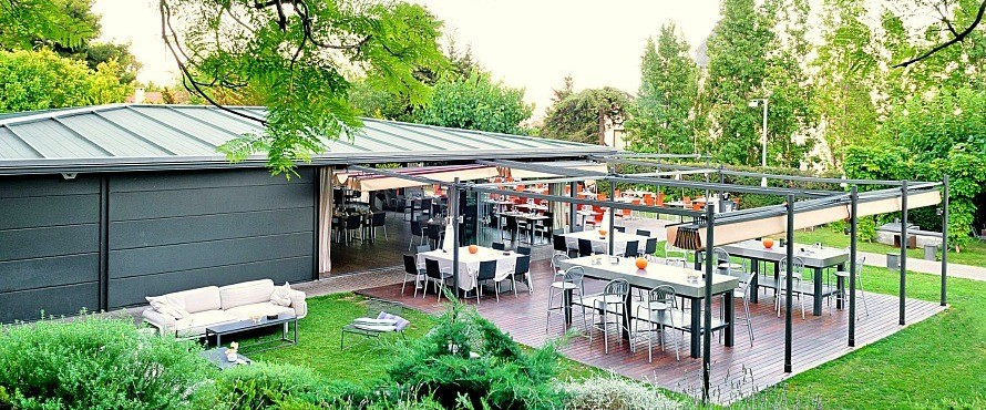 Restaurante el jard de l 39 abadessa barcelona for El jardin de l abadessa