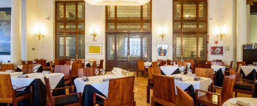Restaurante La Pecera Del Círculo De Bellas Artes Madrid