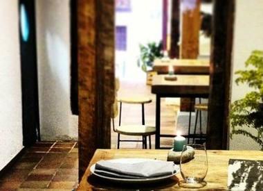 Restaurante la ver nica madrid for El jardin prohibido restaurante
