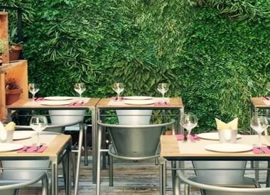 Restaurante la entretenida madrid for El jardin prohibido restaurante